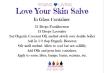 Printable Recipe- Love Your Skin Salve