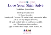 Printable Recipe- Love Your Skin Salve